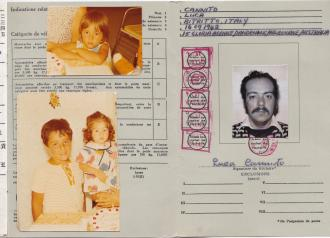 Dad's International Driving Permit which he had gotten before our trip to Italy.