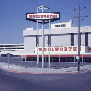 A photo I found from the 70's of Myer, Dandenong as it was back then when Dad took Frank and I shopping.