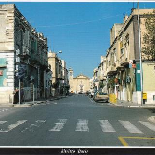 Mum and Dad sent me this postcard in July 1998. It's Via Garibaldi - San Rocco Bitritto (Bari)
