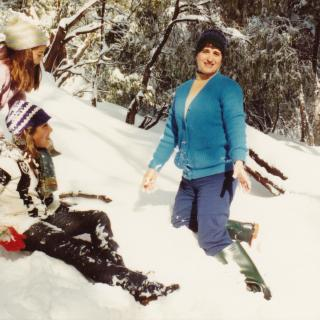 Dad and Mum took us on a Sunday Funday to Lake Mountain so that we could experience the snow together. Mum dated the photo 23/08/81.