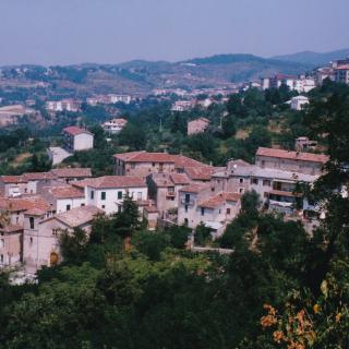 In 1998, Dad would take this memorable photo of Mum's hometown of Spezzano Piccolo.