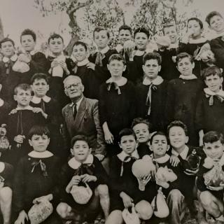 A precious photo of my beautiful Dad from his early school days in Bitritto. He is in the middle row to the right.