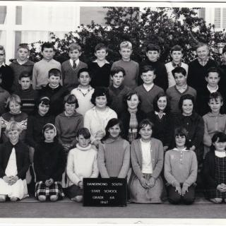 Sam in Grade 6A in 1967. He is the 9th student in the back row. Thankfully, Mum and Dad bought these precious memories.