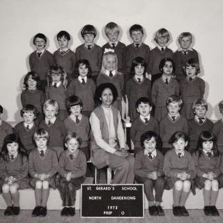 It's 1973 and Jim's first year at St Gerard's Primary School.