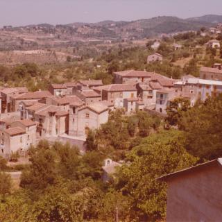 In 1977, Dad took this precious photo of Mum's hometown of Spezzano Piccolo.