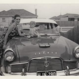 Mum was only 19yrs old when this memorable photo was taken of her in her driveway in Haresta Avenue, Dandenong South.