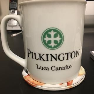 I still treasure Dad's Pilkington cup which had been given to him many years ago as a gift.