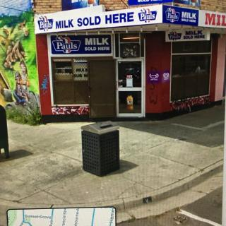Luckily, I was able to find an image of the Milk Bar on Kirkham Road that Dad and Mum walked to on that memorable day.