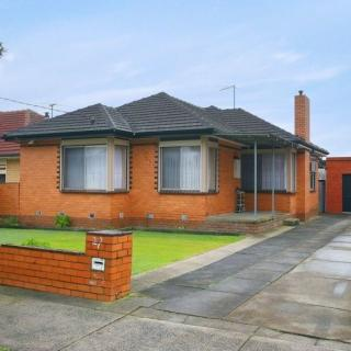 A recent coloured photo of 27 Morwell Avenue, Dandenong South which I was so lucky to find.