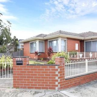 Dad and Mum's house at 35 Gladstone Road, Dandenong which they were both so proud of.