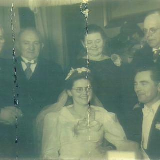 The Wedding Day of Cornelia Grosveld and Antonius Meerbach