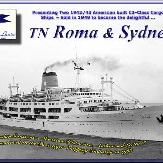An image I found of the ship 'Roma' that the family came to Australia on in 1965.
