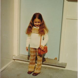 Dad bought me back this gorgeous outfit from Italy in 1973. I loved it and wore it everywhere.